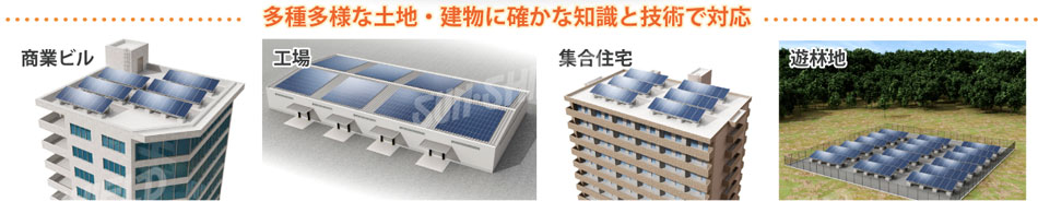 太陽光パネル設置事例